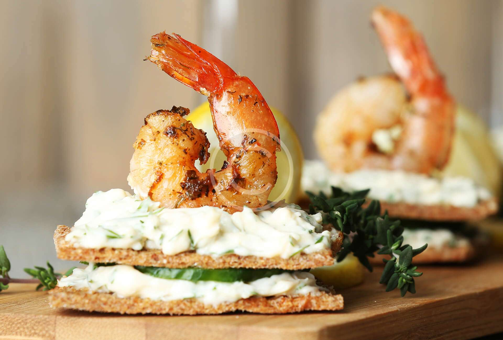 Prawn And Lime Tartlets Recipe